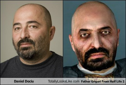 Daniel Dociu Totally Looks Like Father Grigori From Half Life 2