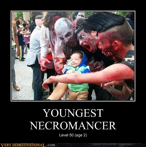 YOUNGEST NECROMANCER