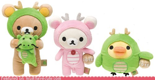 chinese new year,Plush,Rilakkuma,toys,Year of the Dragon