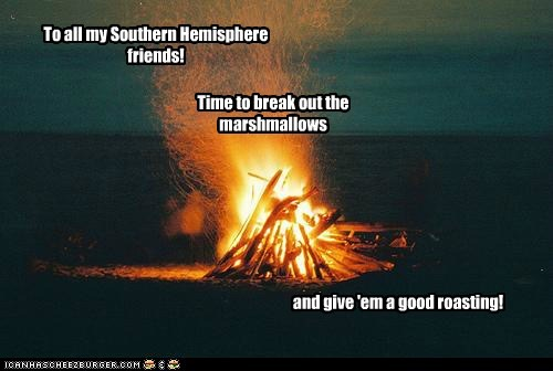 Nothing like a bonfire on the beach!
