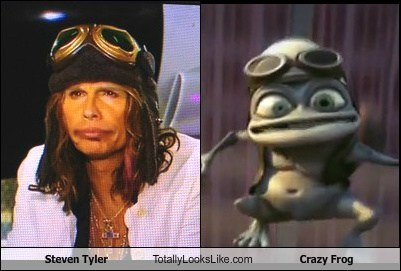 Steven Tyler Totally Looks Like Crazy Frog