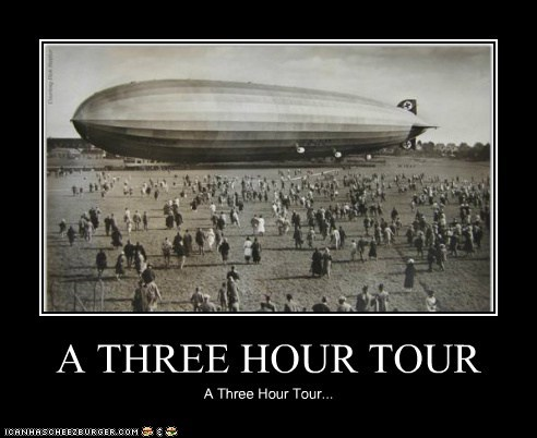 A THREE HOUR TOUR