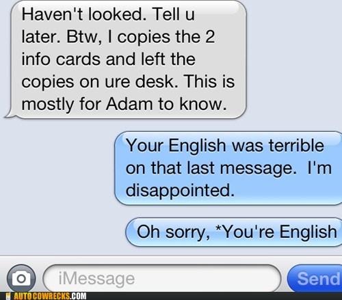 english,grammar,grammar nazi,your,youre