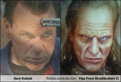 Gary Kubiak Totally Looks Like Vigo From Ghostbusters II