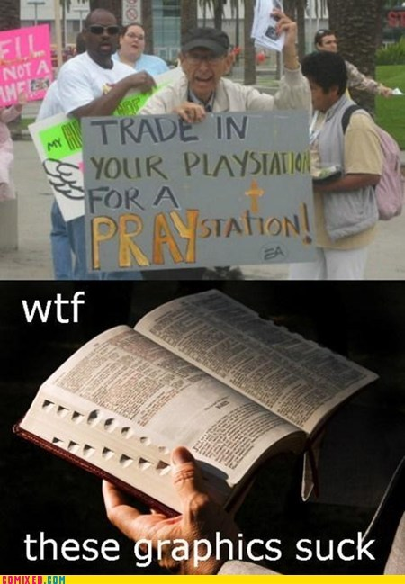 best of week,bible,graphics,playstation,praystation,religion,video games