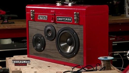 Boombox in a Toolbox of the Day
