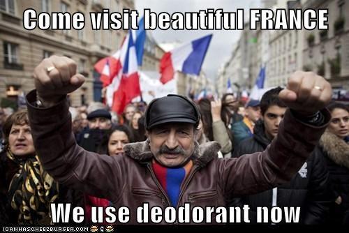 deoderant,france,political pictures