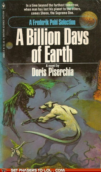 WTF Sci-Fi Book Covers: A Billion Days of Earth