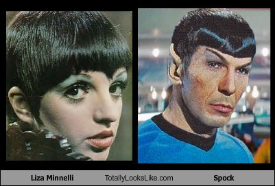 Liza Minnelli Totally Looks Like Spock