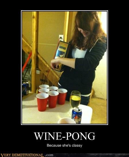 beer pong,classy,hilarious,Sexy Ladies,wine