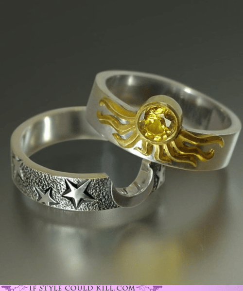 Ring of the Day: Nary the Two Shall Meet