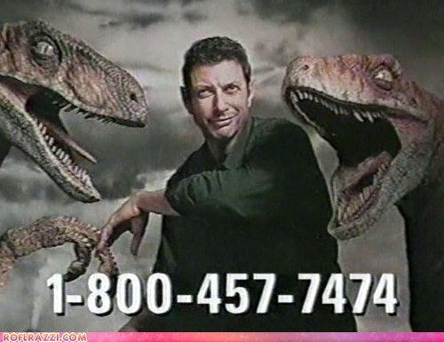 Jeff Goldblums Are Standing By, So Call NOW!