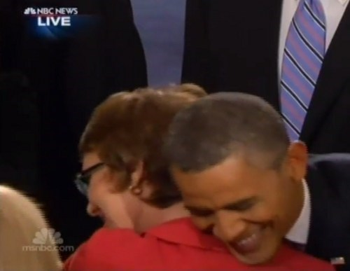 SOTU: Obama Embraces Rep. Giffords