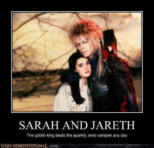 david bowie,goblin king,labyrinth,Pure Awesome,twilight