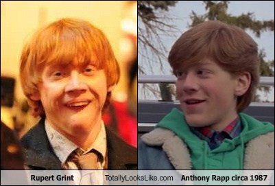 Rupert Grint Totally Looks Like Anthony Rapp circa 1987