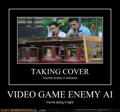 VIDEO GAME ENEMY AI