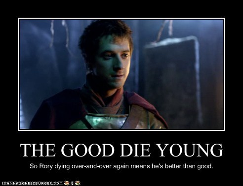 arthur darvill,better,die,doctor who,good,rory williams