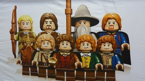 Lego Lord of the Rings Minifigs of the Day