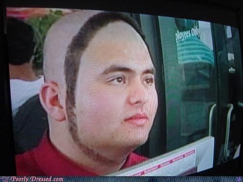 bad hair,hair circle,lost a bet,why