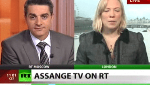 Another Follow Up of the Day: Julian Assange TV Show to Air on Russia Today