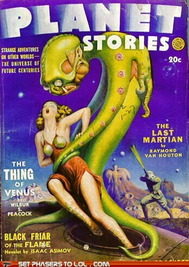 WTF Sci-Fi Book Covers: The Last Martian