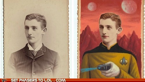 Victorian Photos of Sci-Fi Characters