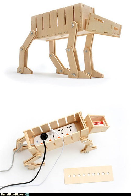 DIY AT-AT Cable Organizer