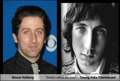 Simon Helberg Totally Looks Like Young Pete Townshend