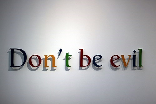 dont-be-evil,facebook,google,Nerd News,search results,Tech,twitter