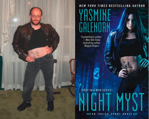 Awkward Fantasy Novel Cover Poses of the Day