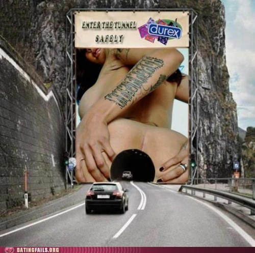 butts,condoms,durex,Hall of Fame,in the butt,tunnel