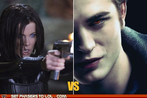 """Underworld"" vs. ""Twilight"": Cast Your Vote!"