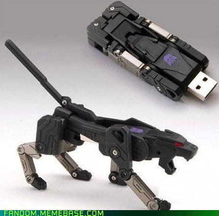Transformers, USB Out!