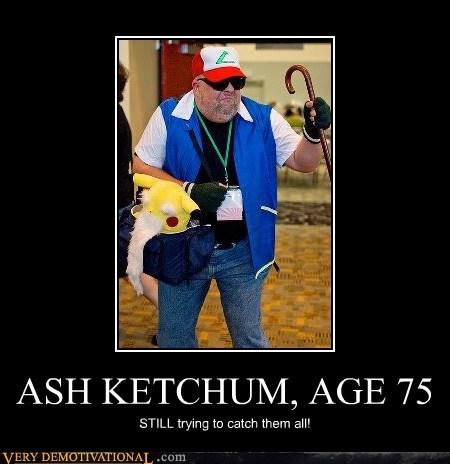 ASH KETCHUM, AGE 75
