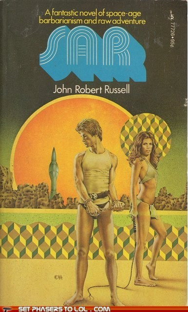WTF Sci-Fi Book Covers: SAR