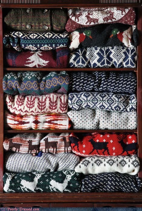 So many great sweaters to choose from!