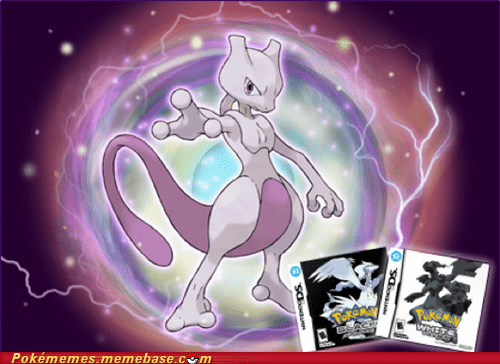 Mewtwo Coming to Black and White