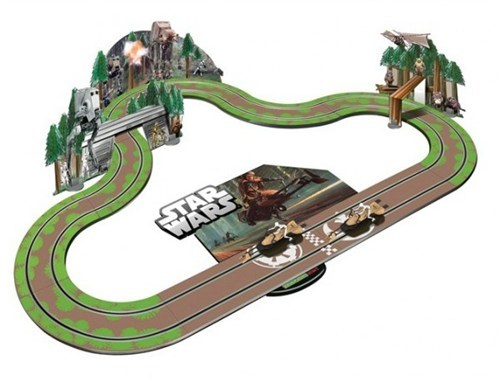 Star Wars Slot Car Track of the Day