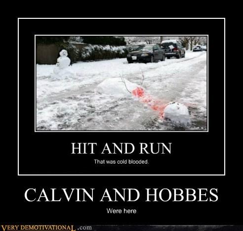 calvin-hobbes,hilarious,snowmen
