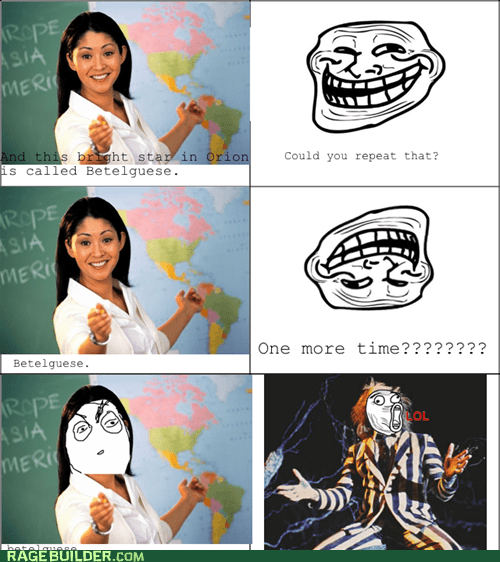 Rage Comics: The Bane of Every Astronomy Course