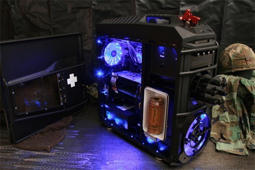 Battlefield 3 Beer Fridge Case Mod of the Day