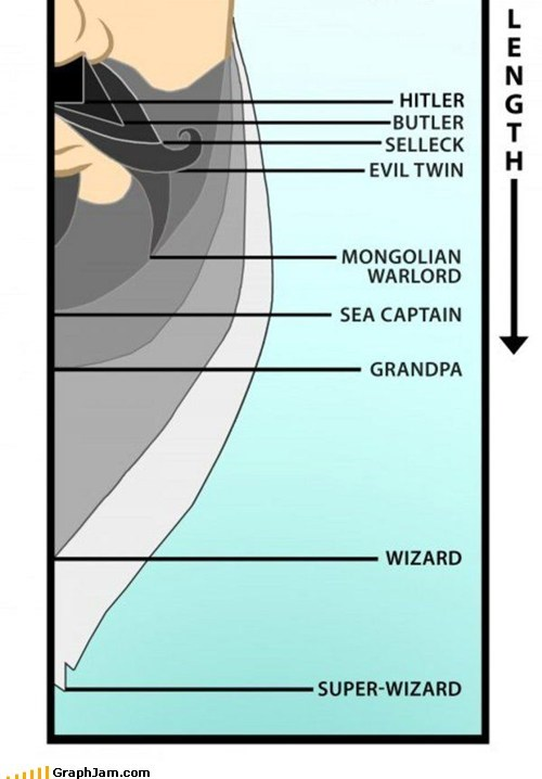 GraphJam: Facial Hair Chart