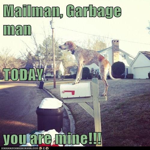 Mailman, Garbage man