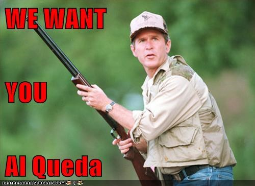 WE WANT  YOU Al Queda