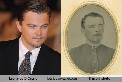 Leonardo DiCaprio Totally Looks Like This old photo