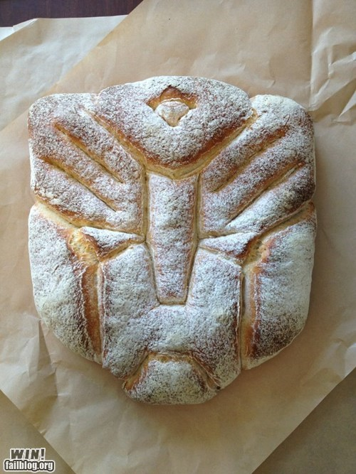 Transformers Bread WIN