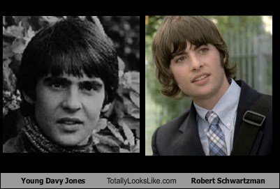 Young Davy Jones Totally Looks Like Robert Schwartzman