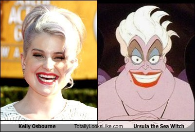 Kelly Osbourne Totally Looks Like Ursula the Sea Witch