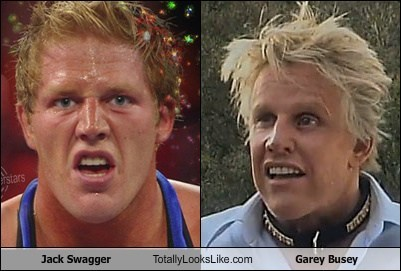 Jack Swagger Totally Looks Like Gary Busey