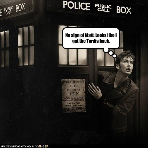 David Tennant,doctor who,Matt Smith,sign,tardis,the doctor